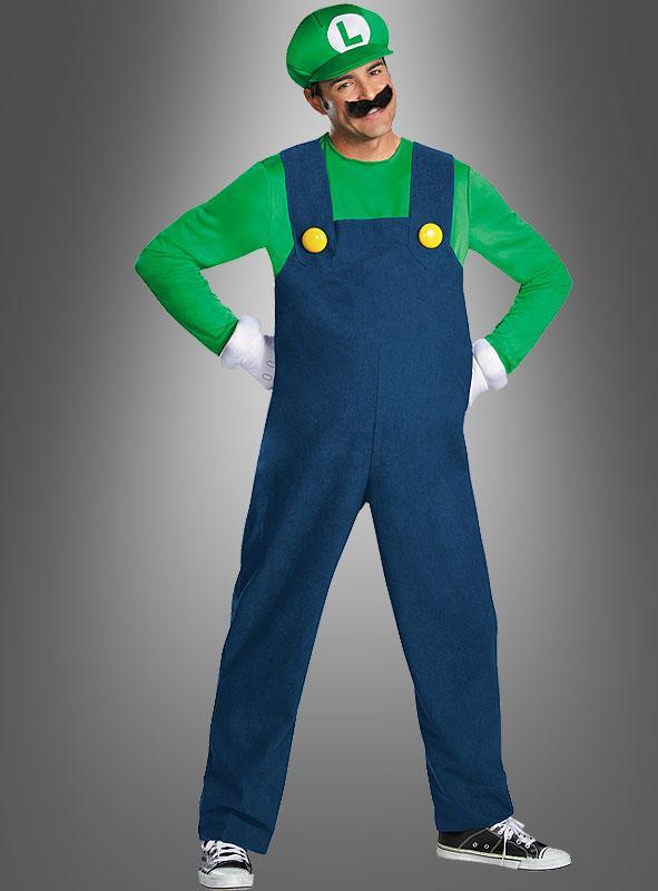 Luigi Costume Deluxe