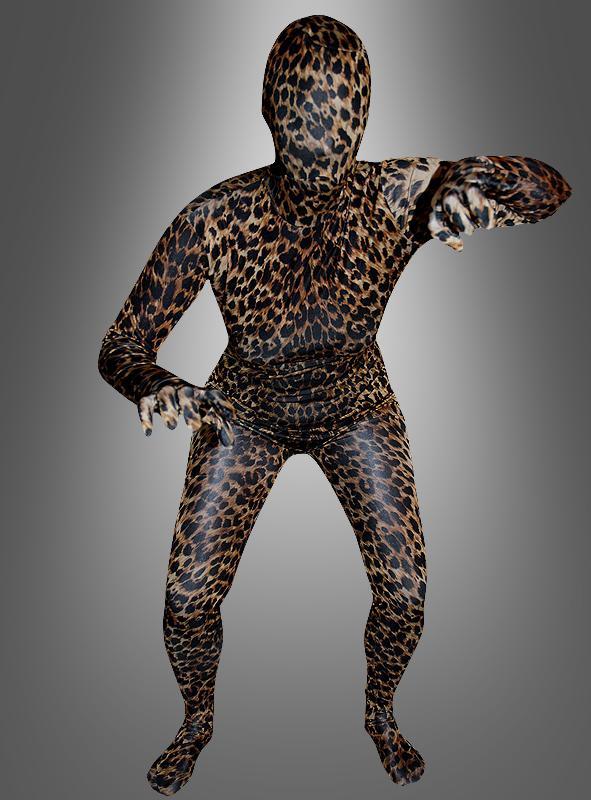 Leopard Ganzkörperanzug