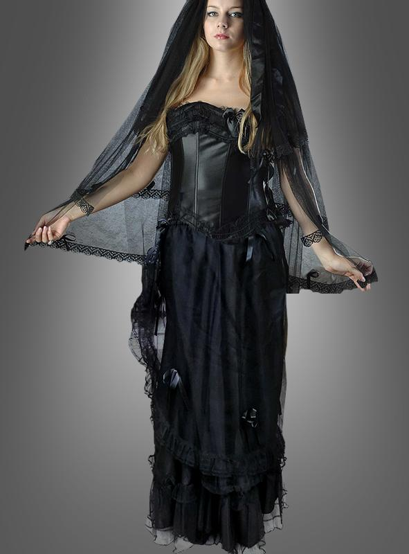 Gothic Skirt with Tulle