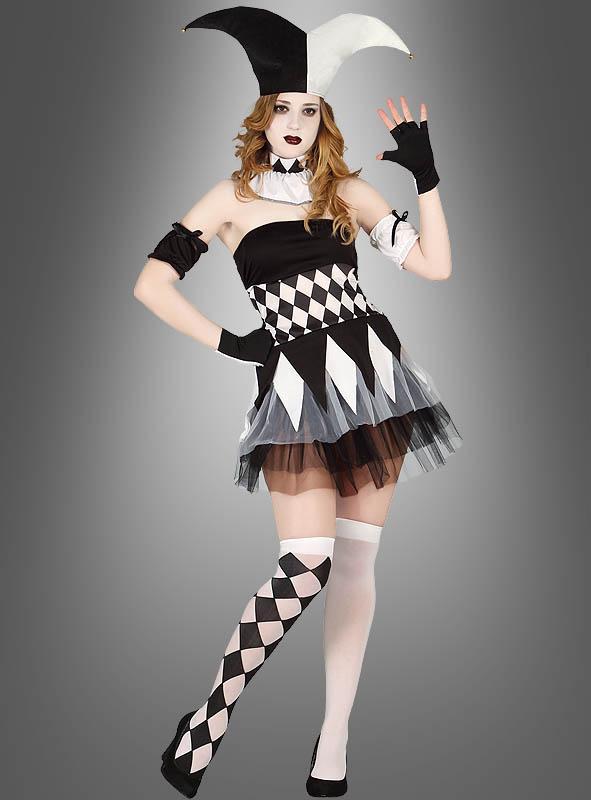 Clown Women Harlequin
