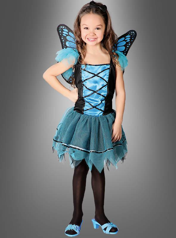 Blue Butterfly Child Costume