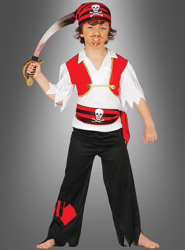 Pirate William Children Costume