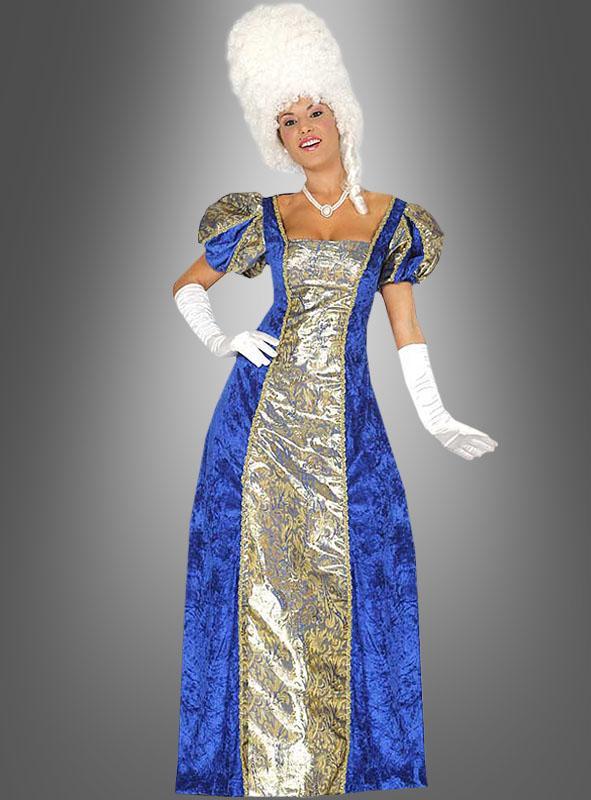 Blue Baroness Ladys Costume