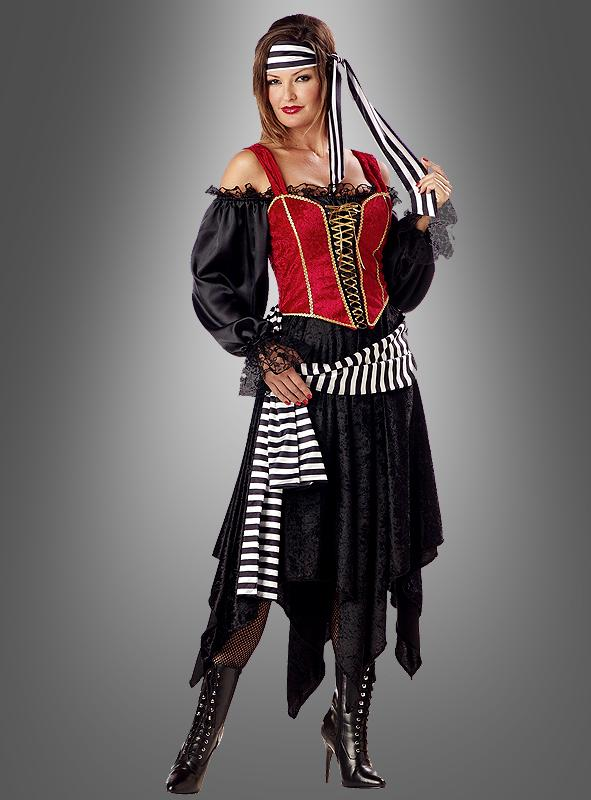 Pirate deluxe woman costume