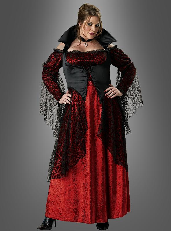 DELUXE Vampirin Kostüm Übergröße