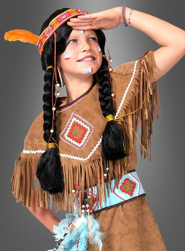 Kleine Squaw Indianerinkostüm