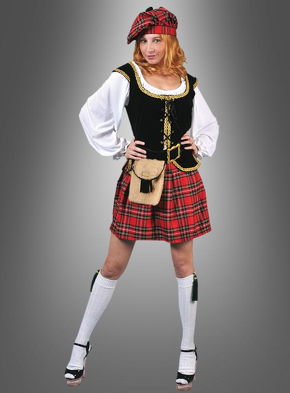 Sexy Scotswoman Costume