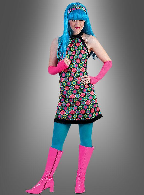 70er Retro Kleid Melody