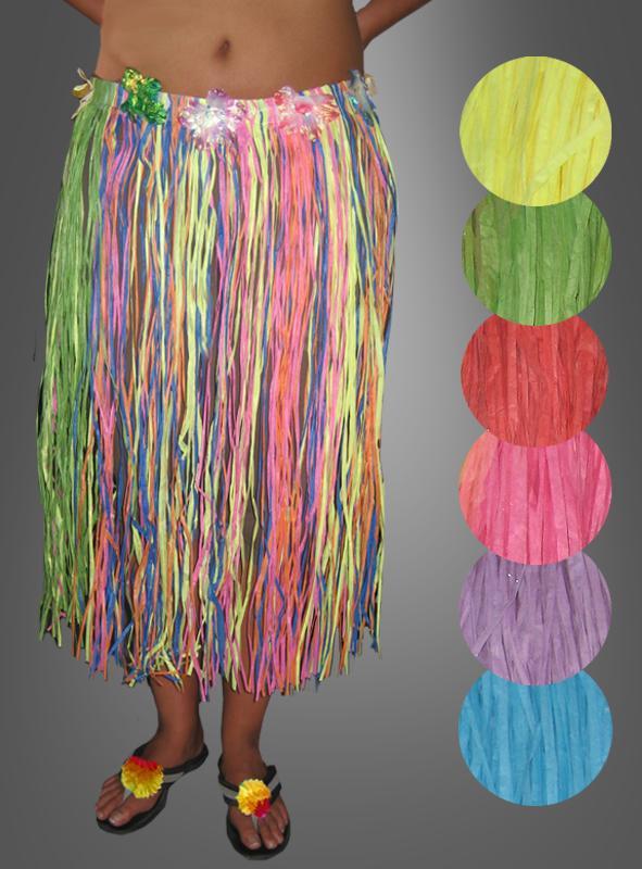 tropical hawaii skirt