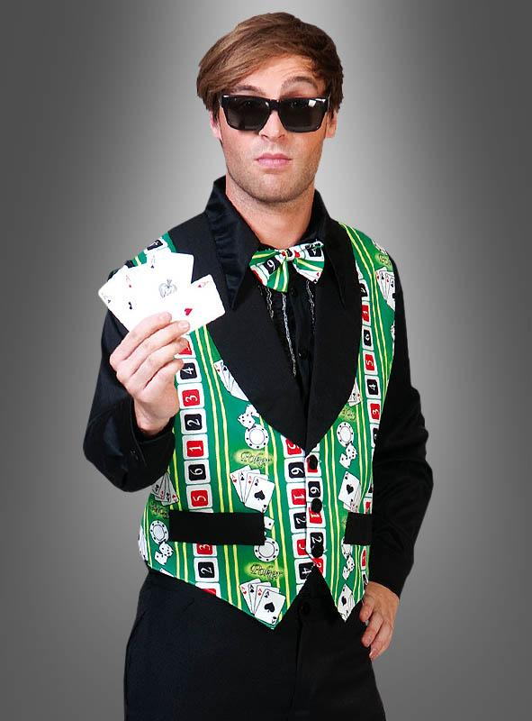 Casino Vest with bow tie