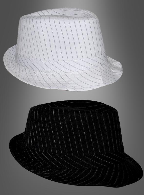 Mafia Gangster Hut gestreift