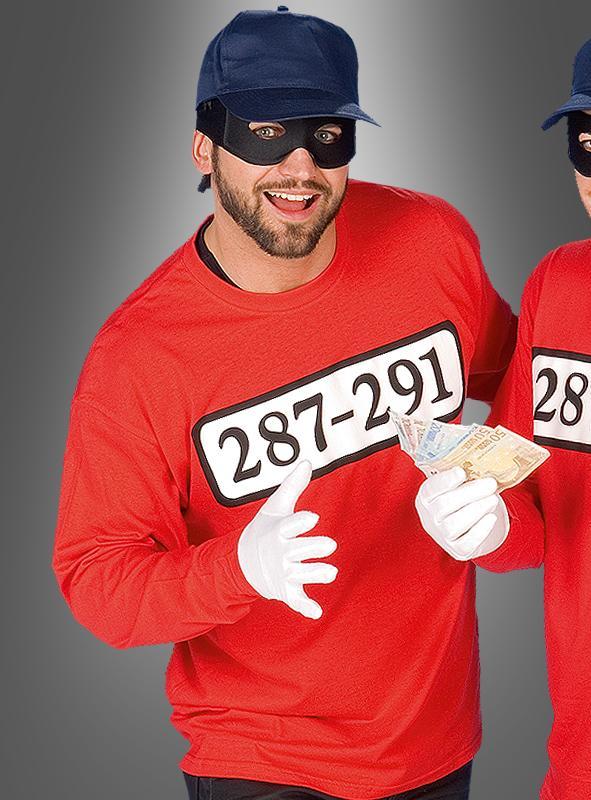 Criminal Shirt Gangster Costume