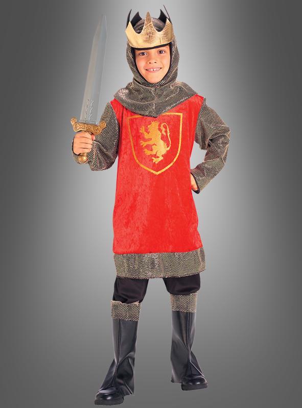 König Ritter Kinderkostüm
