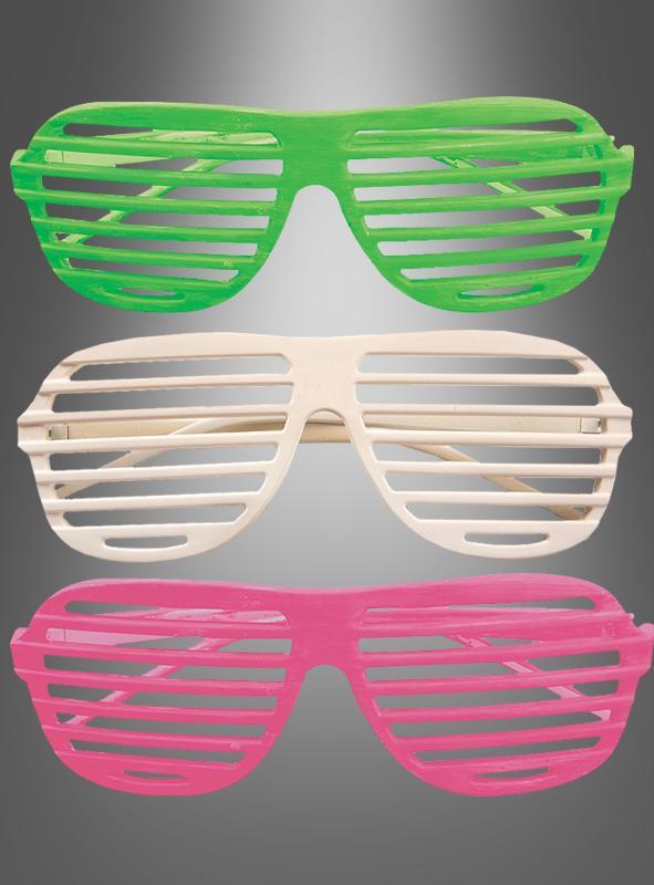 Party Gitterbrille 80er
