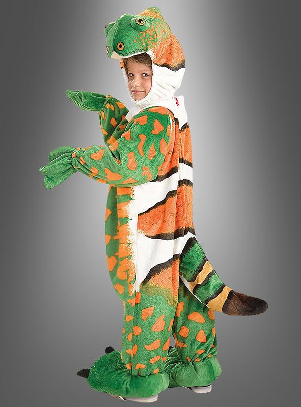 Iguana child costume