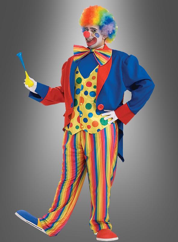 clown kost m in xxxl bergr e kost. Black Bedroom Furniture Sets. Home Design Ideas