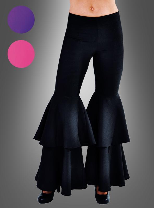 Hippie Damenhose mit Doppelschlag Deluxe