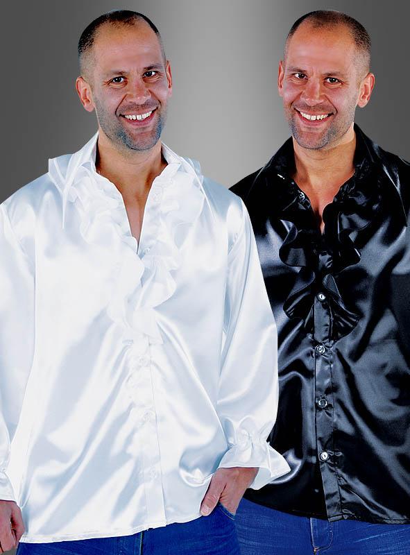 Satin Shirt Disco for Men Plus Size