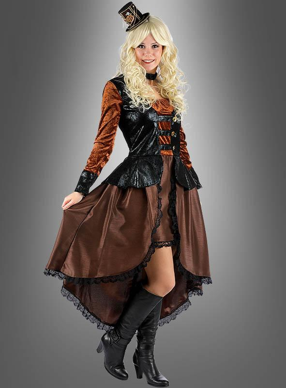 Steampunk Dress Lady