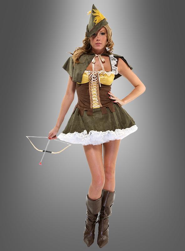 Sexy Robin Hood Damenkostüm