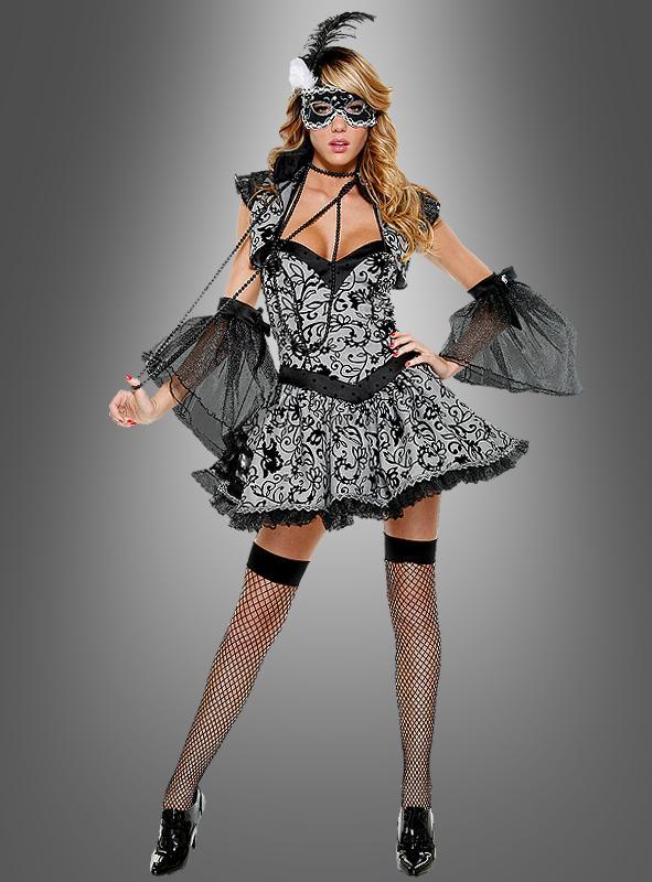 Sexy Maskierte Schönheit Kostüm