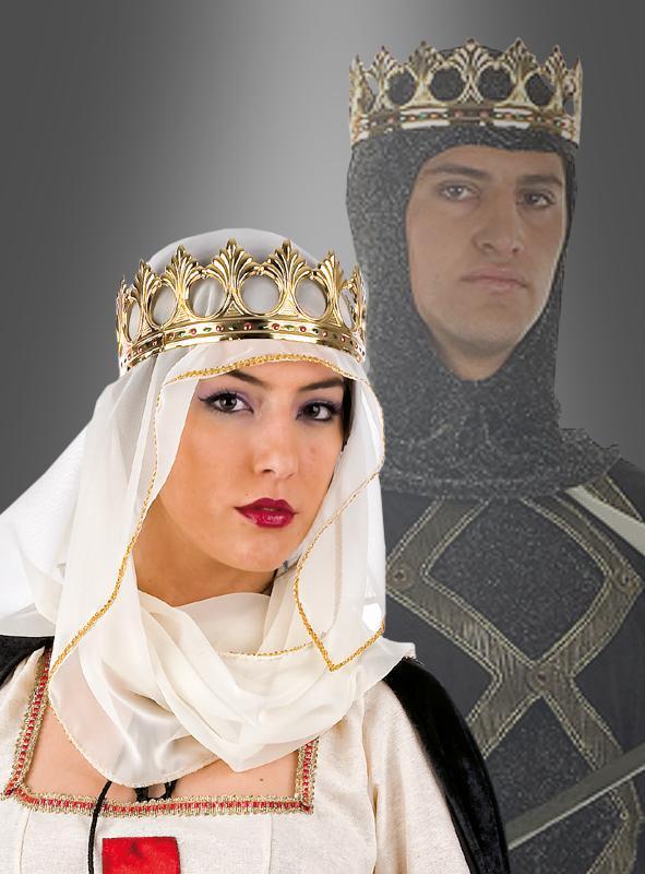 Medival deluxe crown for King or Queen