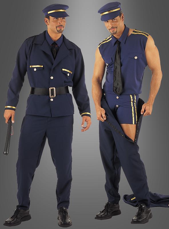 Sexy Policeman Striptease Costume