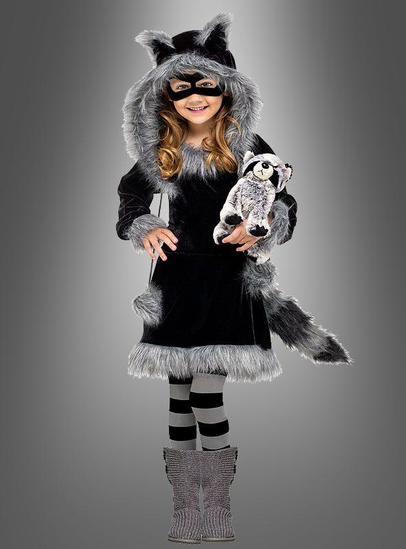 Sweet Raccoon Girl Costume