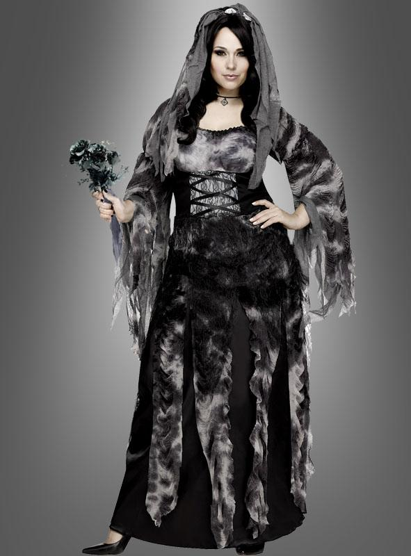 XXL Dark Cemetery Bride Costume
