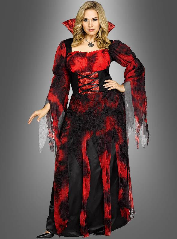 XXL Blutige Gräfin Vampirkostüm