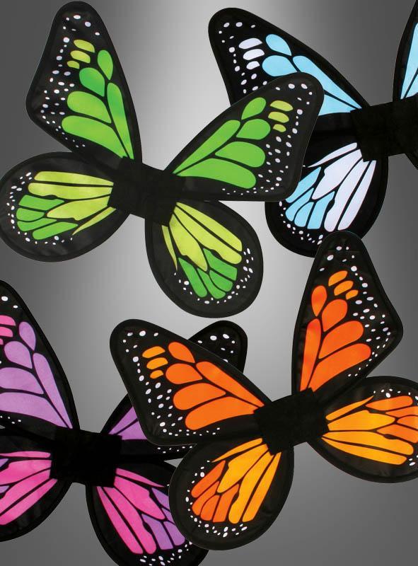 Satin Schmetterlingsflügel