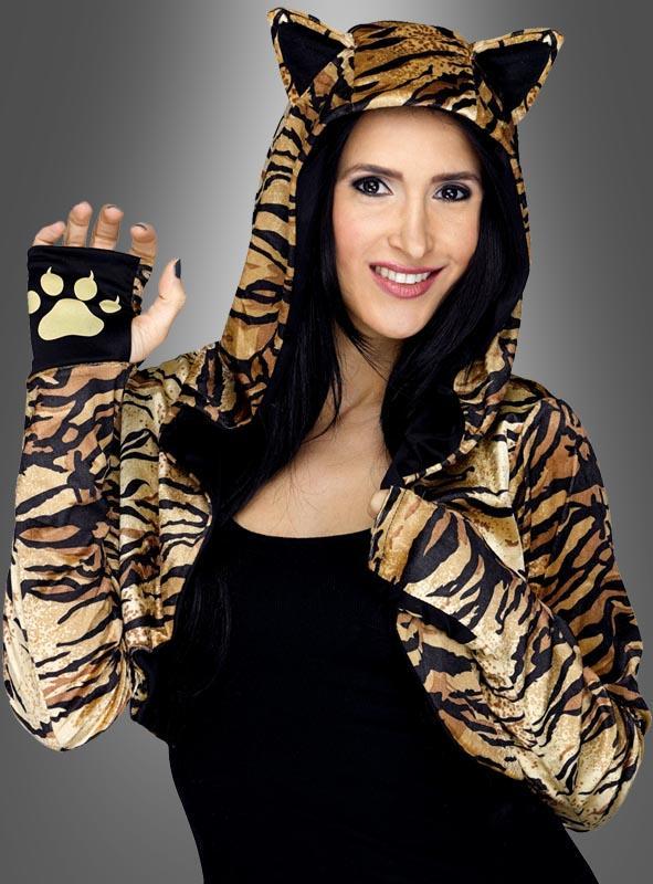 Tiger Bolero für Damen