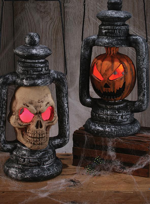 Halloween Laterne mit Licht