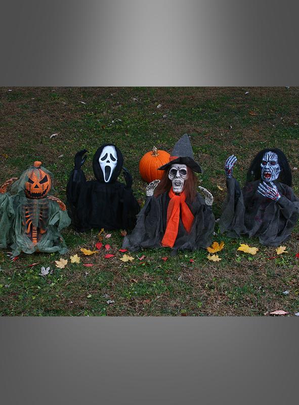 Große Halloween Kreaturen Gartendeko 50 cm