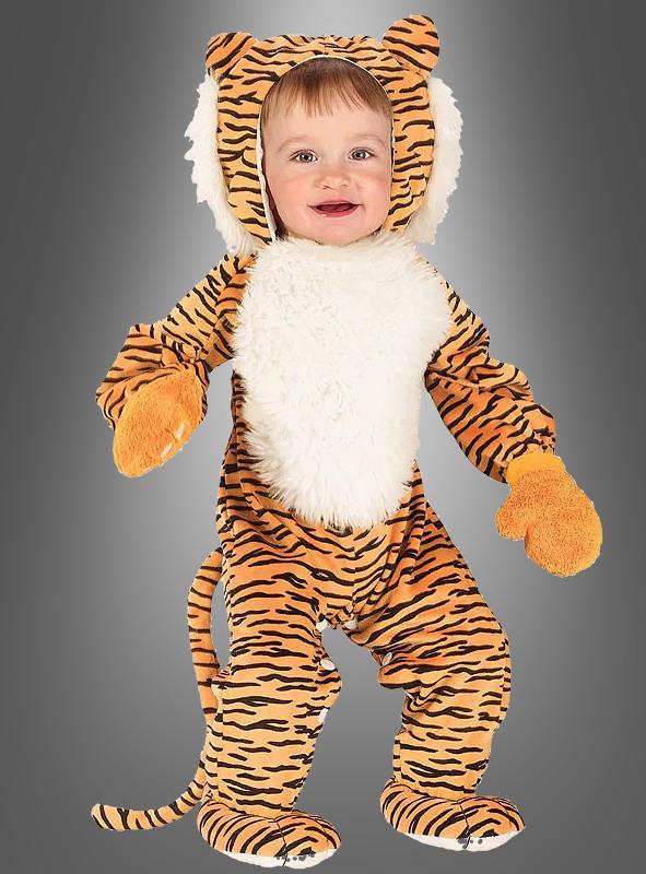 Infant Cuddly Tiger Costume