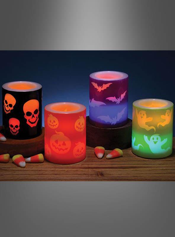 Halloween Teelichter