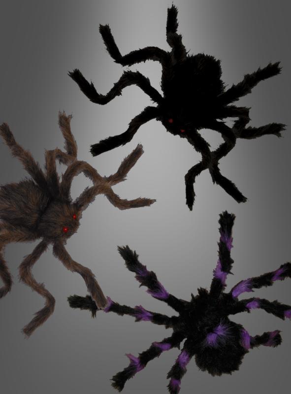 Riesenspinne 45 cm Halloweendekoration