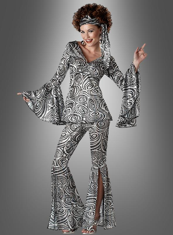 Disco Fox Lady Women Costume