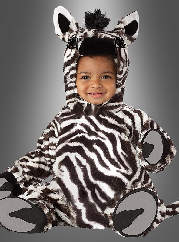 Deluxe Zebra Costume Infant