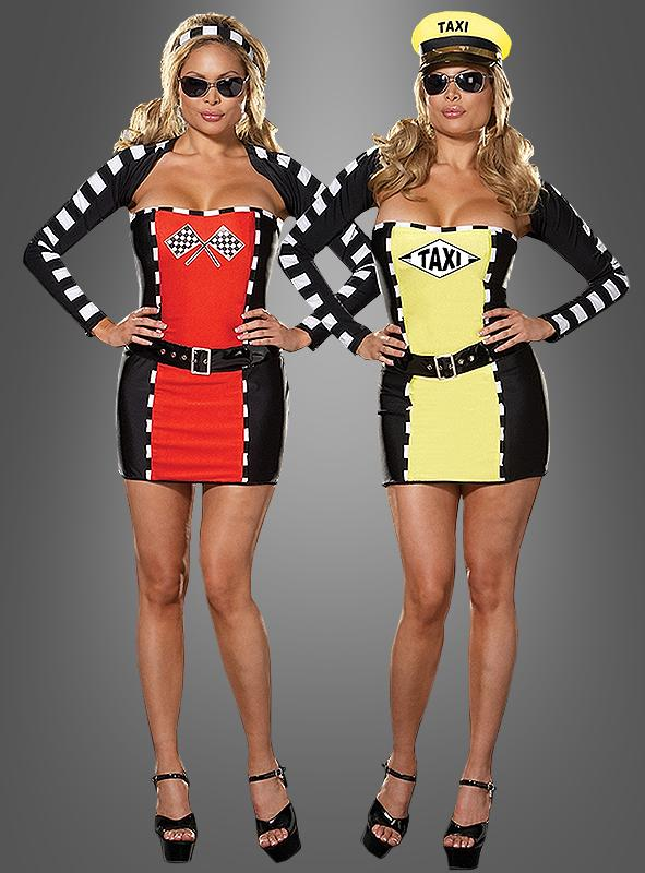 Reversible Race Car and Taxi Driver costume