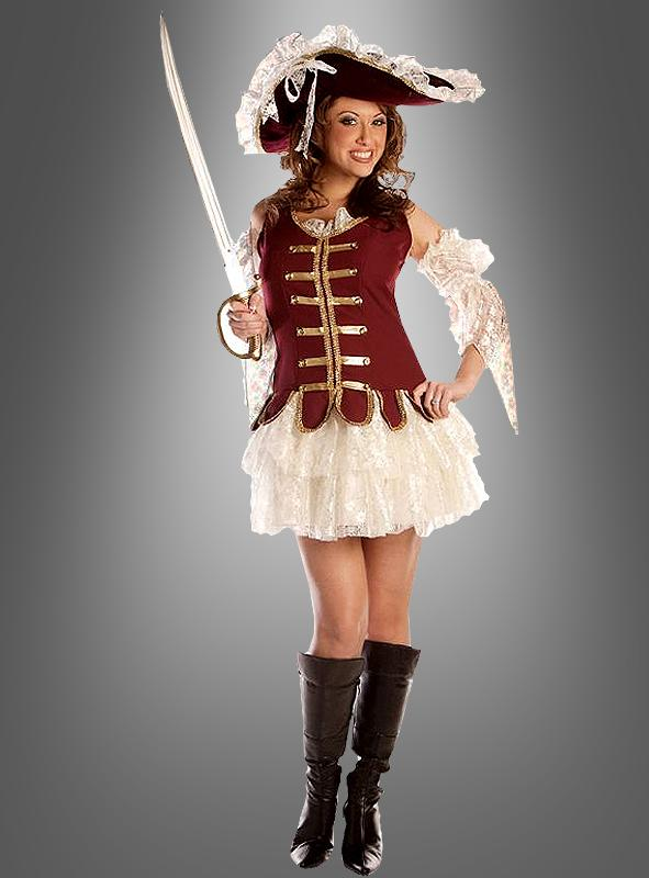 Sexy Treasure Pirate costume