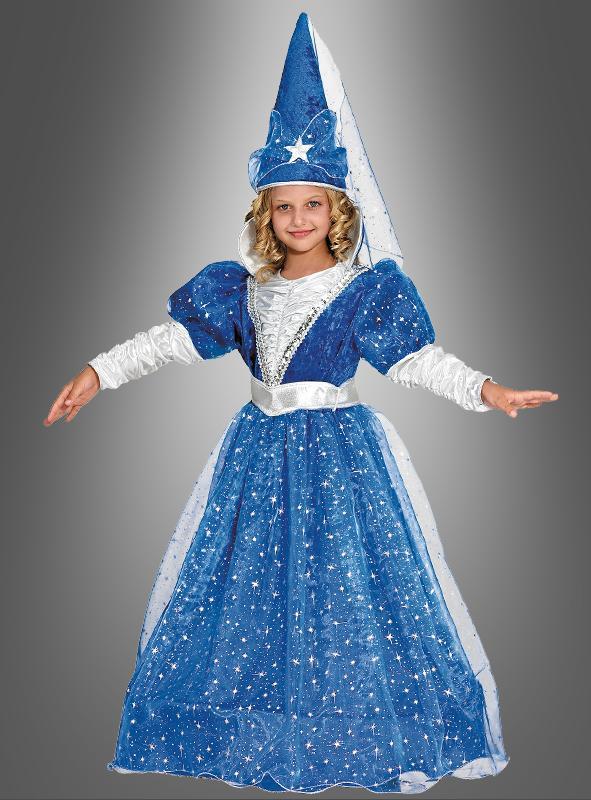 Königin der Nacht Deluxe Kinderkostüm