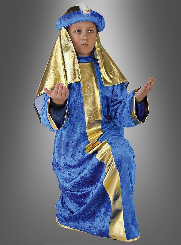Magus blue children costume