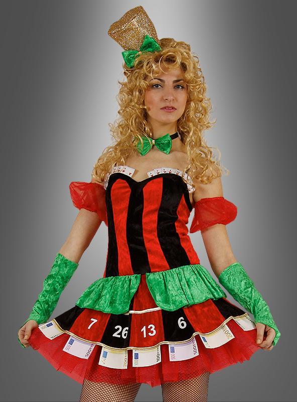 Casino Kostüm Roulette für Damen