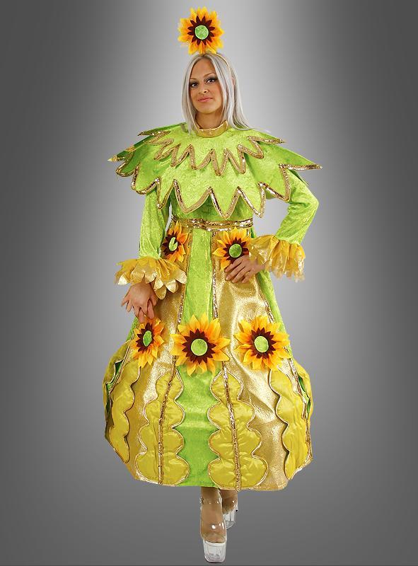 Sonnenblumenfrau Kostüm