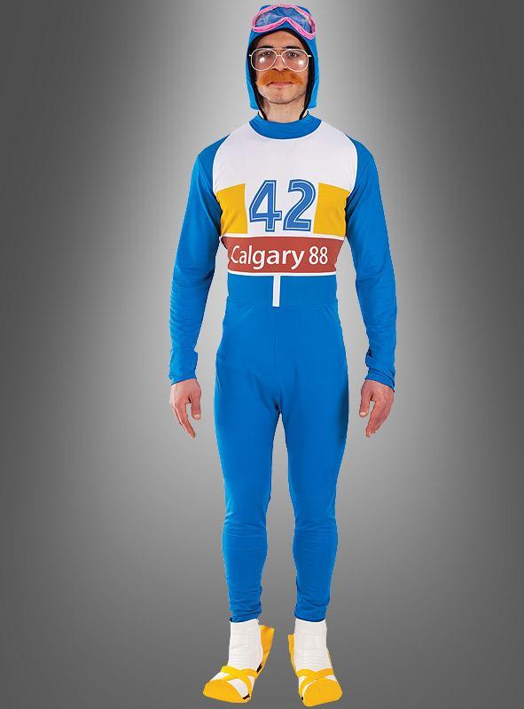 Skispringer Eddie Kostüm