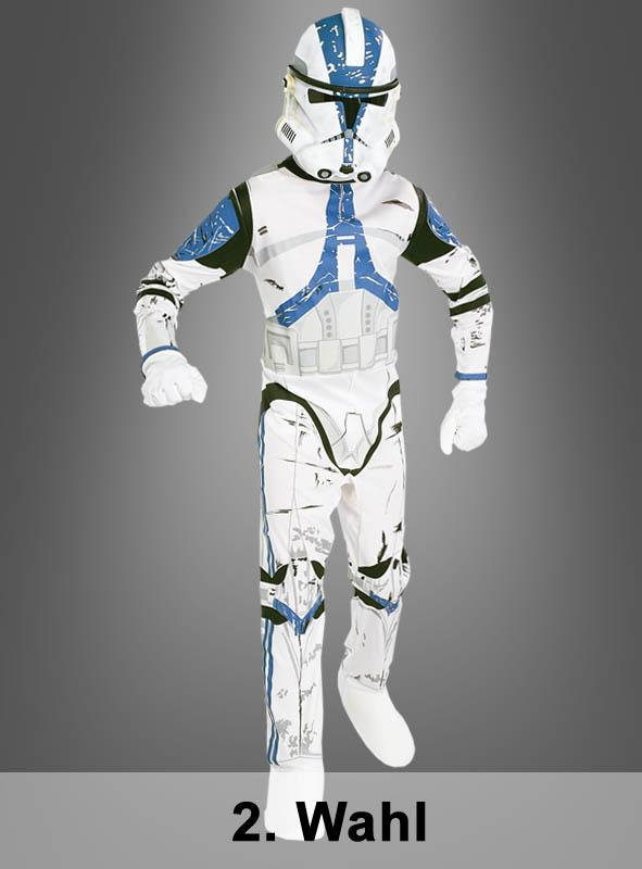 STAR WARS Kinder Clone Trooper Kostüm 2. Wahl