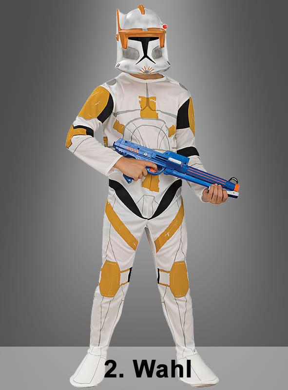 Clone Trooper Commander Cody 2. Wahl Kinderkostüm