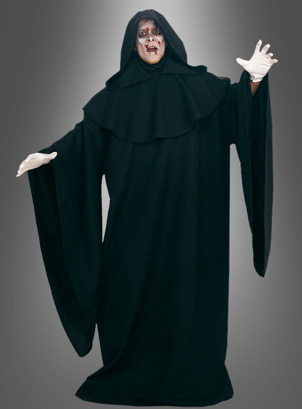 DELUXE black Robe Cape