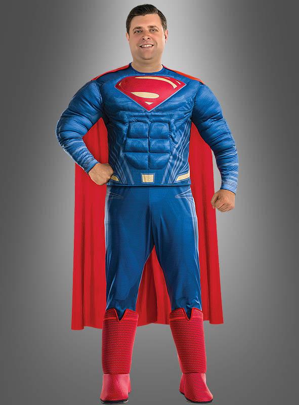 superman kost m bergr e xxl justice league. Black Bedroom Furniture Sets. Home Design Ideas